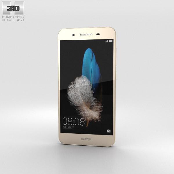 3D model of Huawei Enjoy 5S Gold