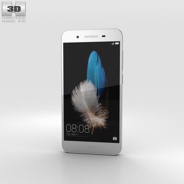 3D model of Huawei Enjoy 5S Silver