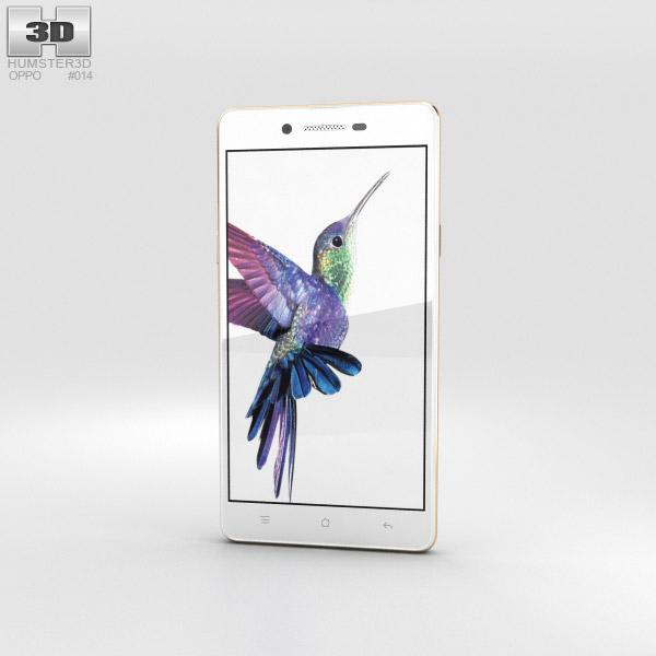 3D model of Oppo Neo 7 White