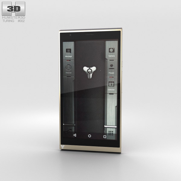 Turing Phone Beowulf 3D-Modell