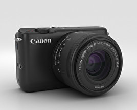 3D model of Canon EOS M10 Black