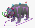 Giant Panda HD 3d model