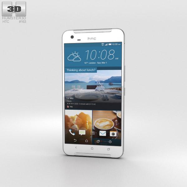 HTC One X9 White 3D model