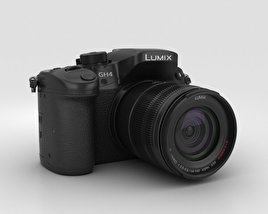3D model of Panasonic Lumix DMC-GH4