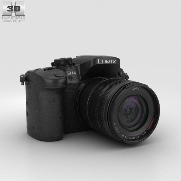 Panasonic Lumix DMC-GH4 3D model