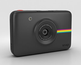 3D model of Polaroid Snap Instant Digital Camera Black