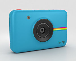 3D model of Polaroid Snap Instant Digital Camera Blue