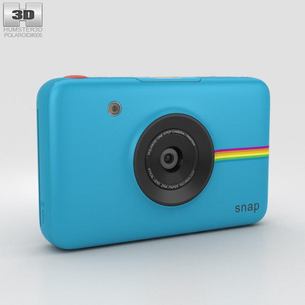 3D model of Polaroid Snap Instant Digital Camera Blue