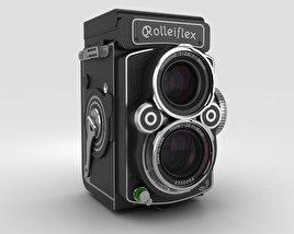 3D model of Rolleiflex 2.8 FX