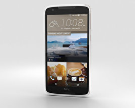 3D model of HTC Desire 828 Dual Sim Pearl White
