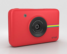 3D model of Polaroid Snap Instant Digital Camera Red