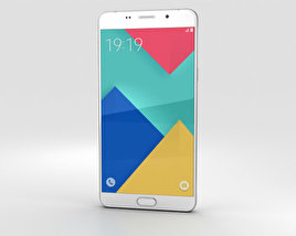 Samsung Galaxy A9 (2016) Pearl White 3D model