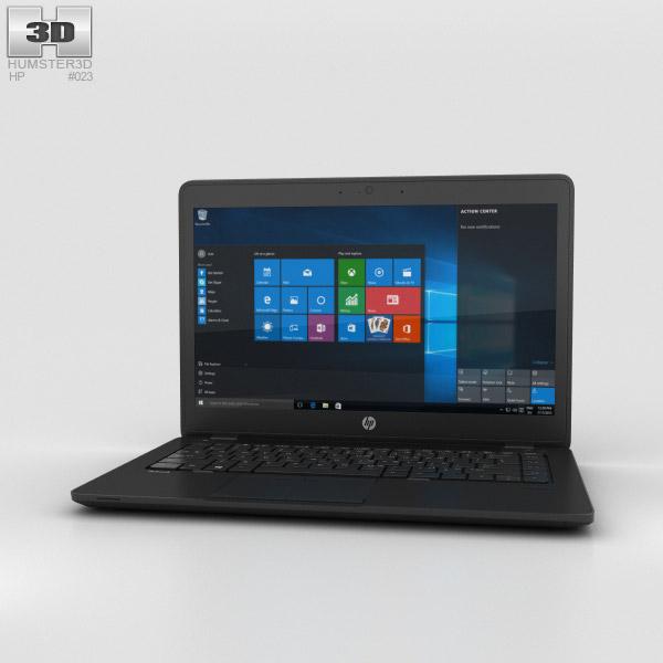HP ZBook 14 G2 Mobile Workstation 3D model
