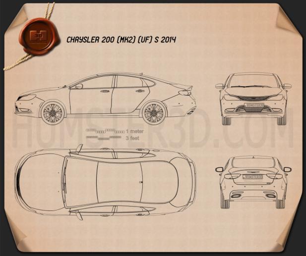Chrysler 200 S 2015 Blueprint