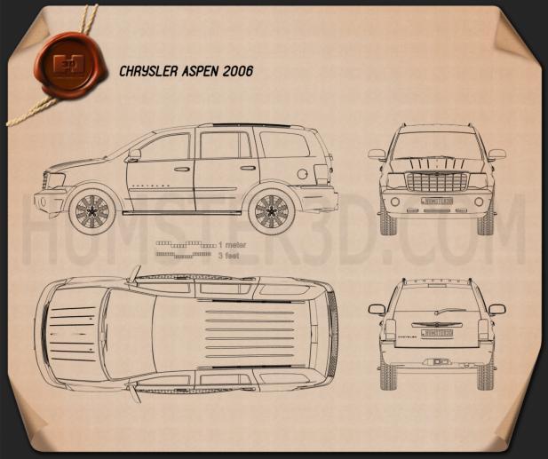 Chrysler Aspen 2006 Blueprint
