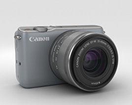 3D model of Canon EOS M10 Gray