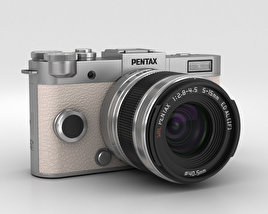 3D model of Pentax Q-S1 Silver