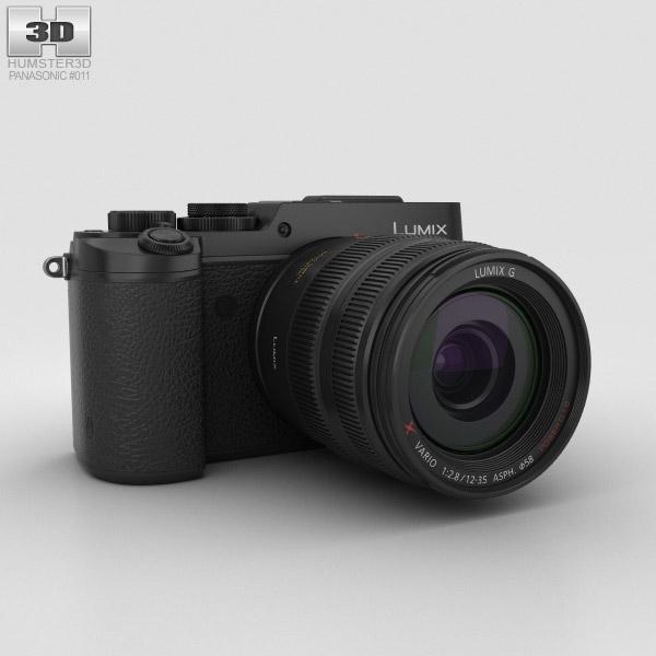Panasonic Lumix DMC-GX8 Schwarz 3D-Modell
