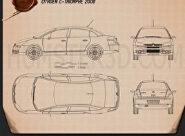 Citroen C-Triomphe 2006 Blueprint