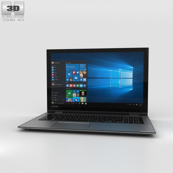 3D model of Toshiba Satellite Radius 15