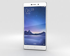 3D model of Xiaomi Redmi 3 Silver
