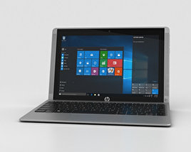 3D model of HP Pavilion x2 10t Turbo Silver