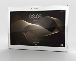 3D model of Huawei MediaPad M2 10-inch Luxurious Gold