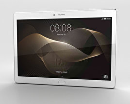 3D model of Huawei MediaPad M2 10-inch Moonlight Silver