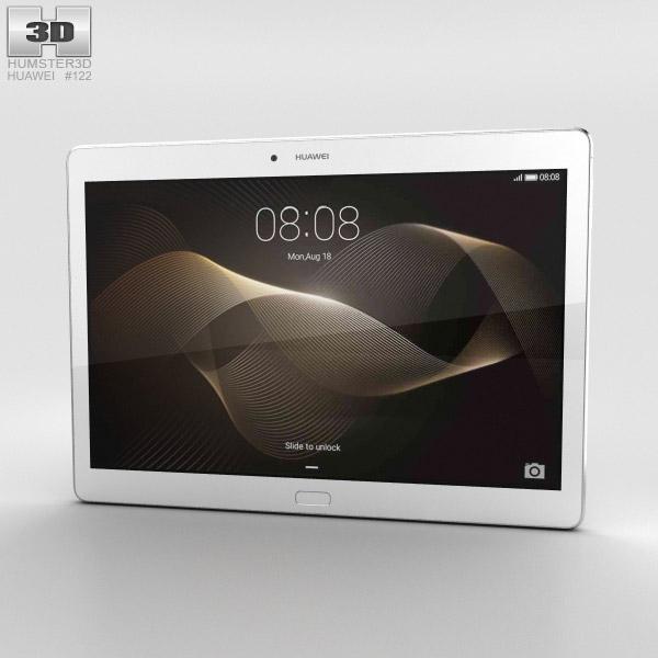 Huawei MediaPad M2 10-inch Moonlight Silver 3D model