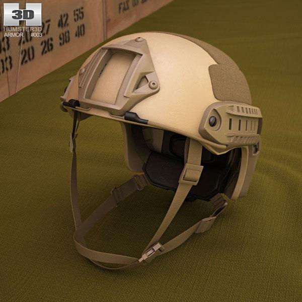 3D model of Ops-Core FAST Helmet