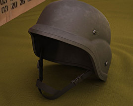 3D model of PASGT Helmet