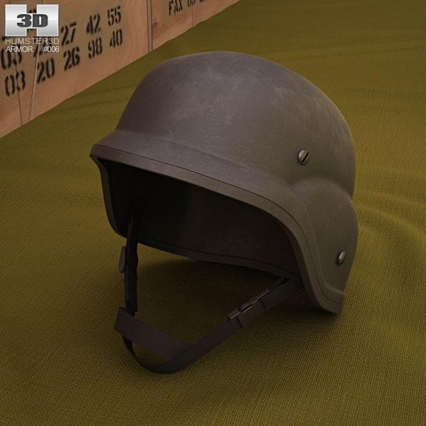 3D model of PASGT Helmet