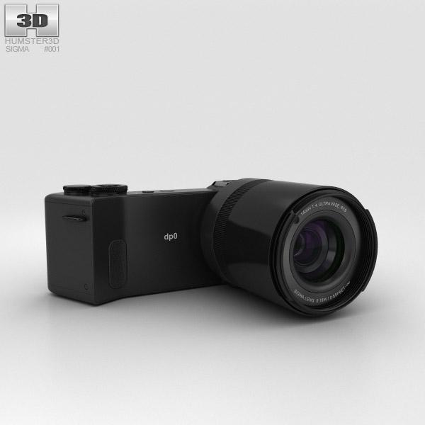 Sigma DP0 Quattro 3D model