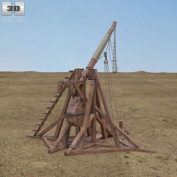 3D model of Trebuchet