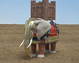 3D model of War Elephant