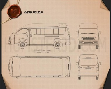 Chery P10 2014 Blueprint