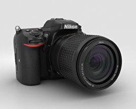 3D model of Nikon D7200