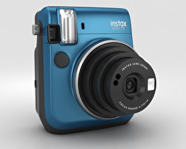 3D model of Fujifilm Instax Mini 70 Blue