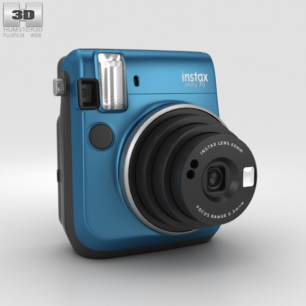 3D model of Fujifilm Instax Mini 70 Blue