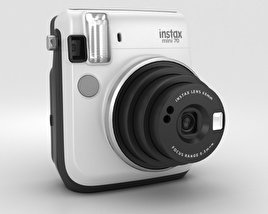 3D model of Fujifilm Instax Mini 70 White