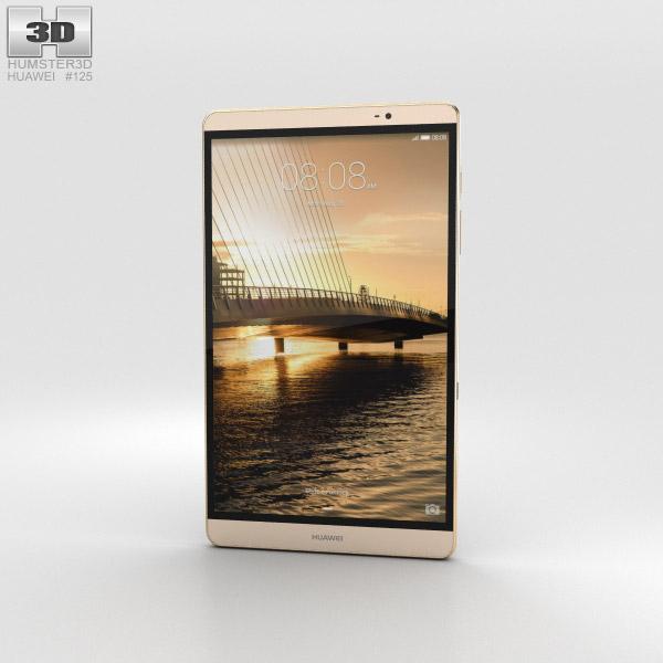 Huawei MediaPad M2 8-inch Gold 3D model
