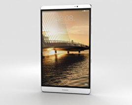 3D model of Huawei MediaPad M2 8-inch Silver