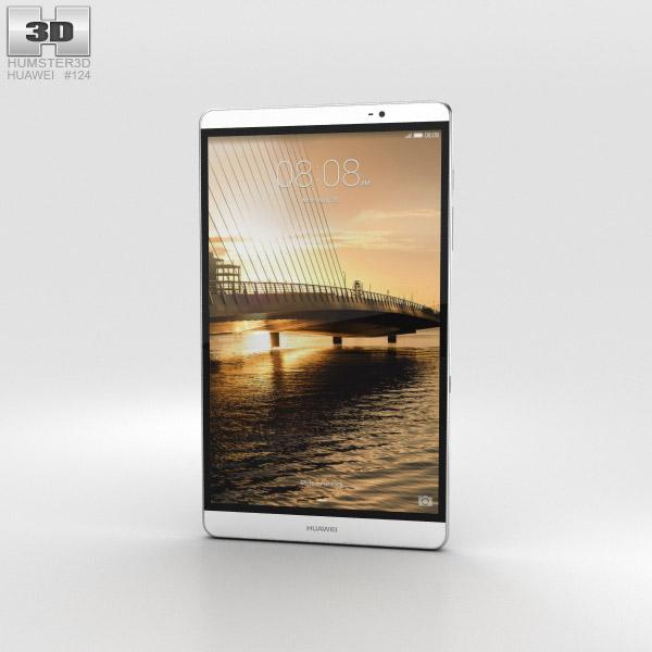 Huawei MediaPad M2 8-inch Silver 3D model