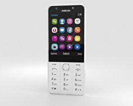 Nokia 230 Dual SIM White 3D model