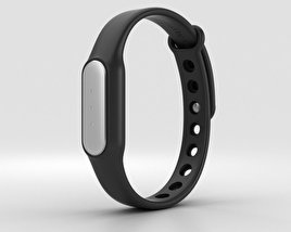 3D model of Xiaomi Mi Band Black