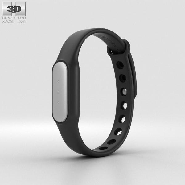 3D model of Xiaomi Mi Band Black