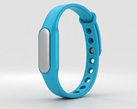 3D model of Xiaomi Mi Band Blue