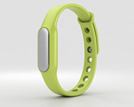 3D model of Xiaomi Mi Band Green