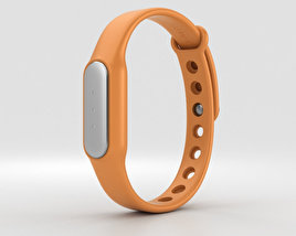 3D model of Xiaomi Mi Band Orange
