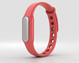3D model of Xiaomi Mi Band Red